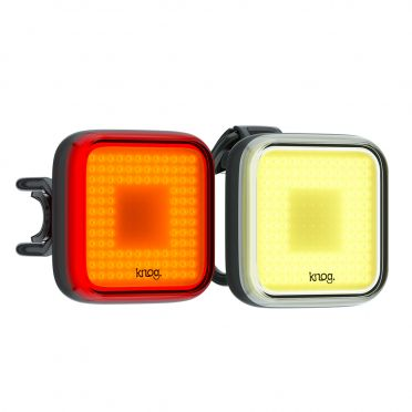 Combo éclairage vélo LED Knog Blinder Square