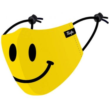 Masque en tissu lavable Pacific & Co. Smiley