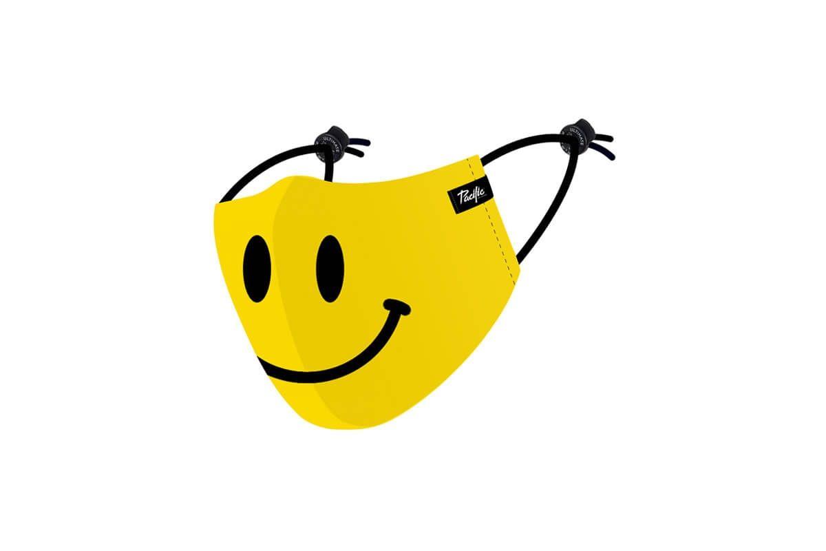 Masque en tissu lavable Pacific & Co. Smiley