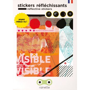 Stickers réfléchissants Rainette Abstract