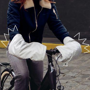 Manchons réfléchissants pour vélo Rainette