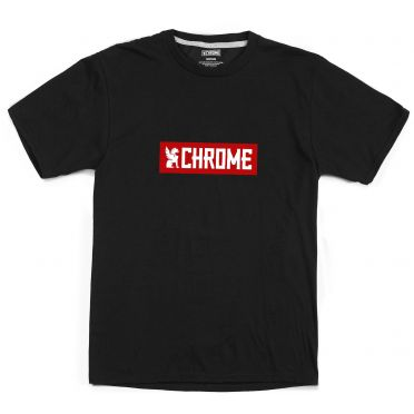 T-shirt Chrome Horizontal Red Logo
