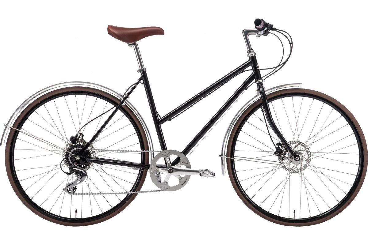 Vélo femme Stålhästen Effekt 8 SPD Black