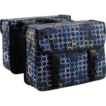 Sacoches doubles pliables Willex Cyber - 34  L