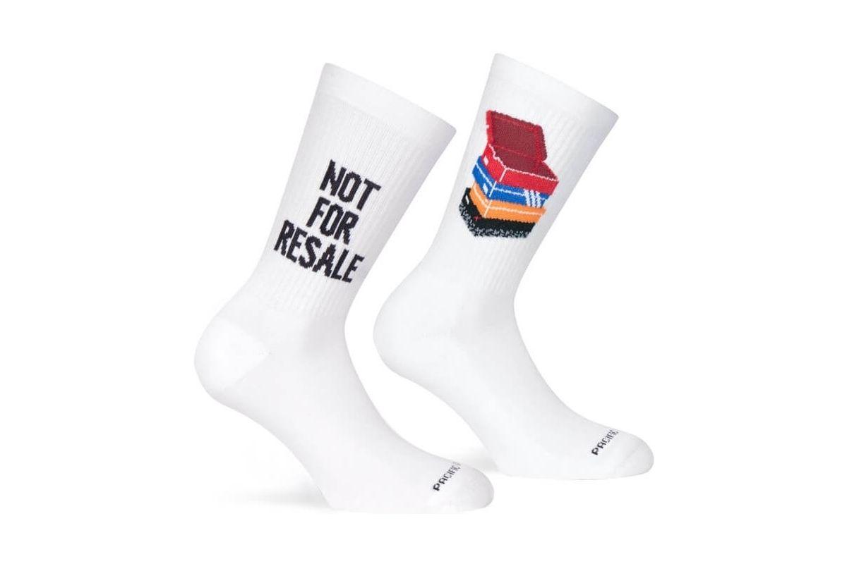 Paire de chaussettes cycliste Pacific & Co - Not for resale