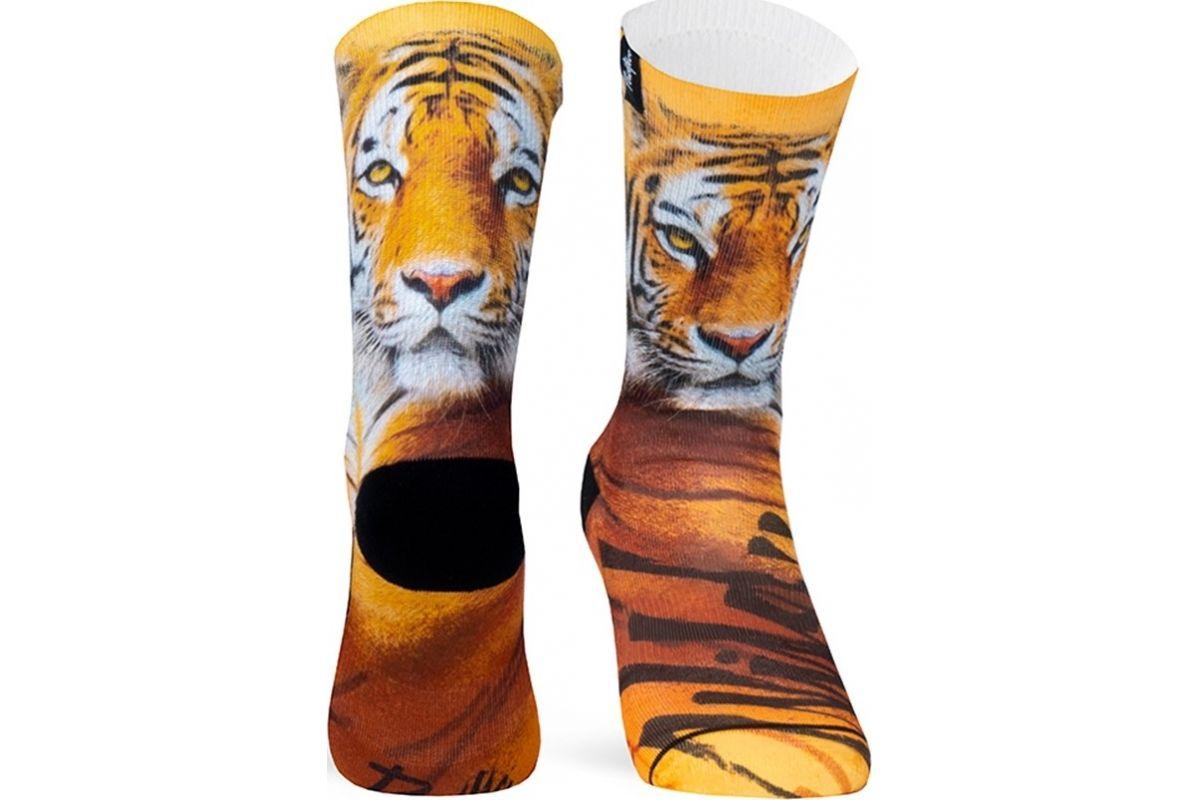 Paire de chaussettes cycliste Pacific & Co - Tiger