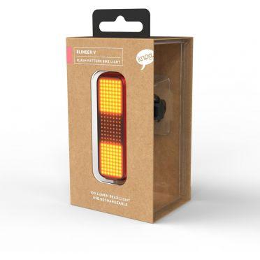 Eclairage vélo LED Knog Blinder V Tracer