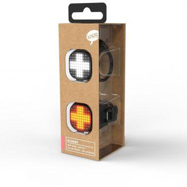 Combo éclairage vélo LED Knog Blinder Mini Cross