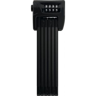Antivol Vélo Pliant à Code Abus Bordo Combo 6100/90 Noir