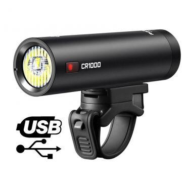 Eclairage avant USB Ravemen CR1000
