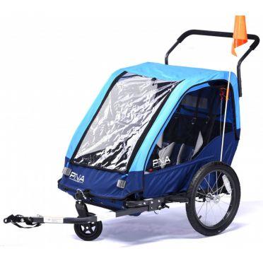 Remorque de transport enfant P&A Eco+