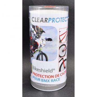 Protection de cadre BMX brillante Clear Protect