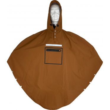 Poncho Imperméable The People's Poncho Hardy 3.0Brown