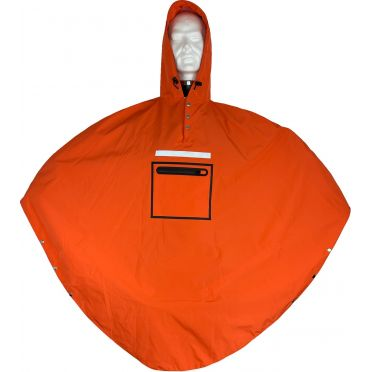 Poncho Imperméable The People's Poncho Hardy 3.0 Orange