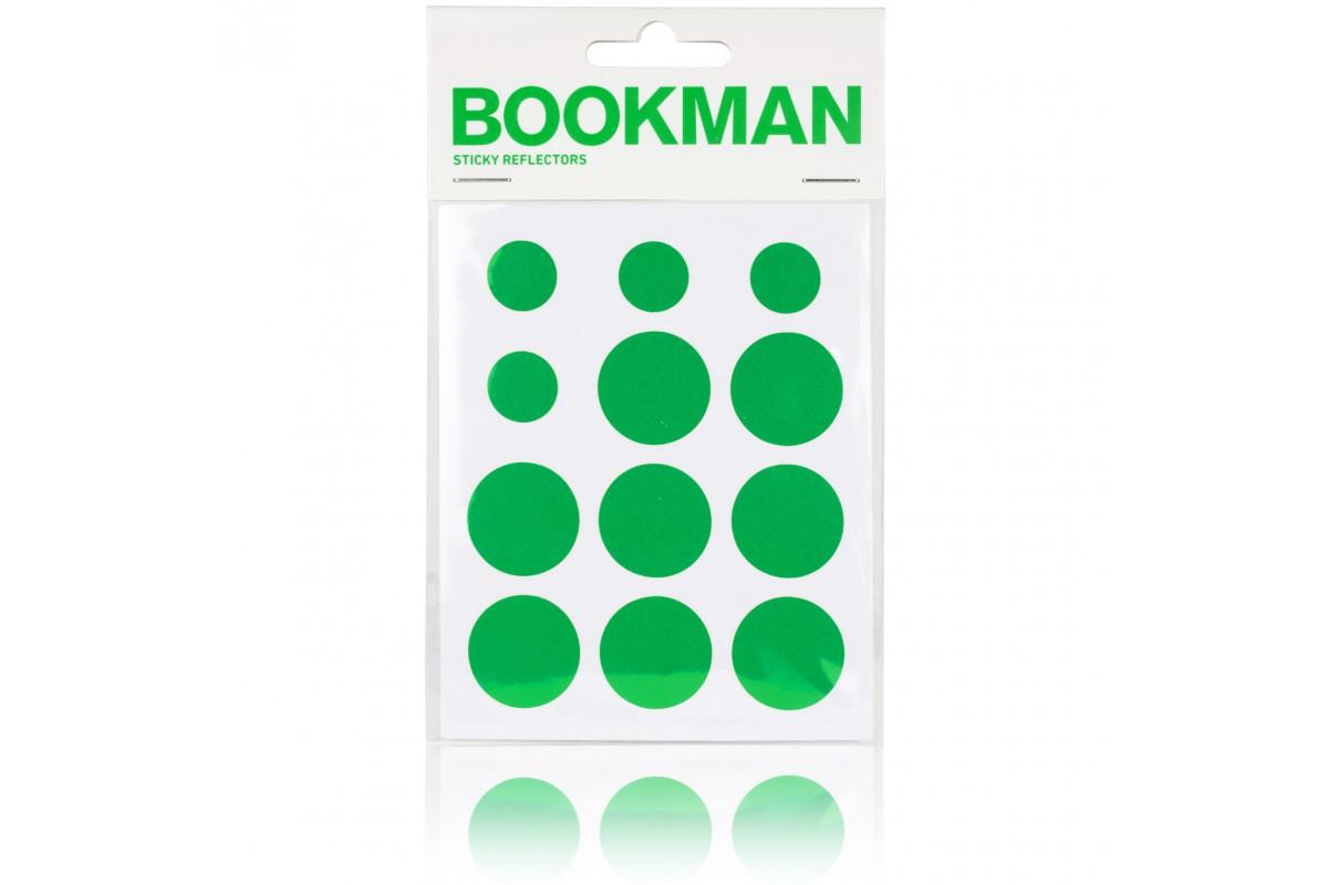 Réflecteurs Sticky BOOKMAN Vert