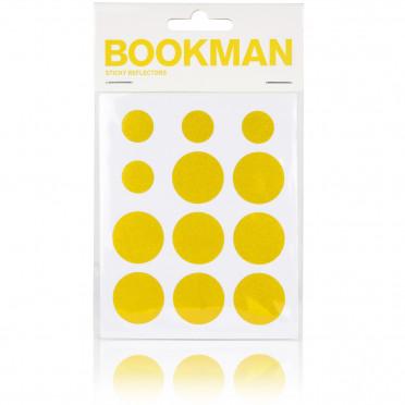 Réflecteurs Sticky BOOKMAN Jaune