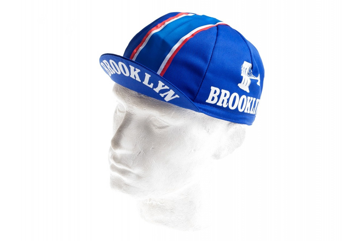Casquette cycliste vintage - Brooklyn Blue