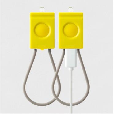 Lampes Vélo BOOKMAN USB Blanche
