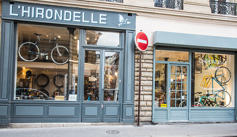 l 39 hirondelle bike shop magasin de v lo urbain et fixie paris beastybike. Black Bedroom Furniture Sets. Home Design Ideas